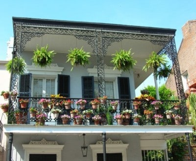 Building in The French Quarter