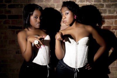 Muzik Lil Muzik (MLM) The London-based female duo promoting the Soca music scene.