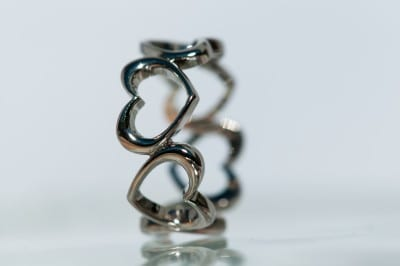 Creole Jewellery Heart Ring Design