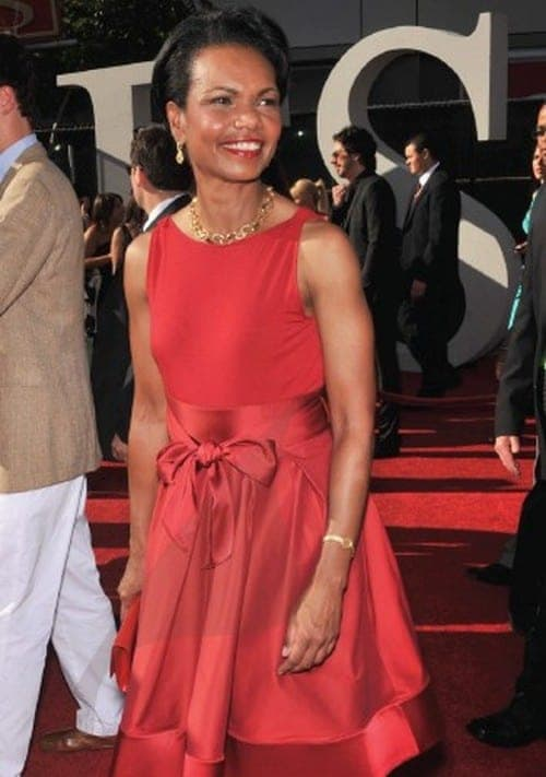 Condoleezza Rice at the 2009 ESPY Awards