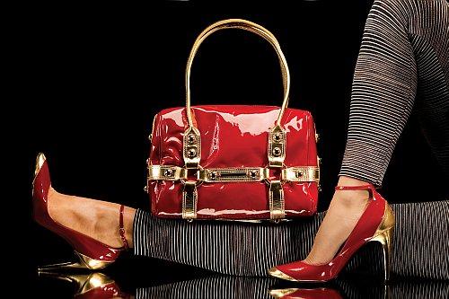 Handbag and matching shoes