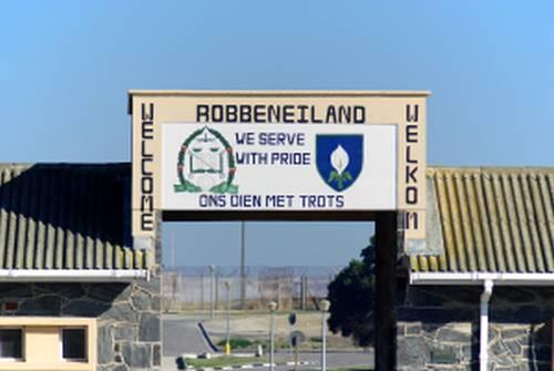 Outside Robben Island