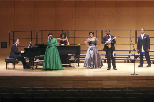 Performance at Illinois State University. Photo: GivonnaJoseph