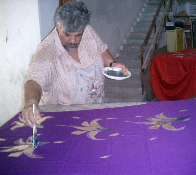 Moro Baruk painting caftans