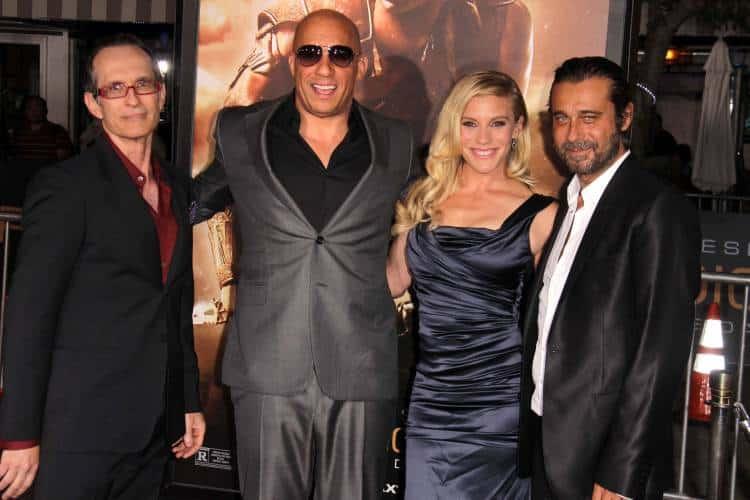 David Twohy, Vin Diesel, Katee Sackhoff, Jordi Molla