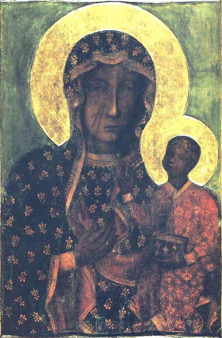 The Black Madonna of Czestochowska