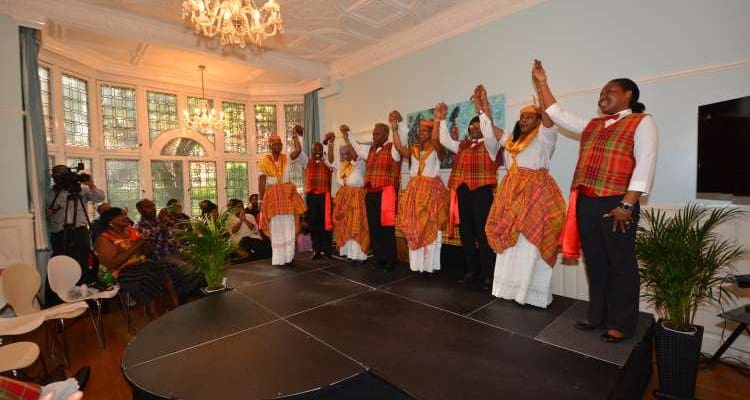 Dominica's parade of Creole Fashion event 2014