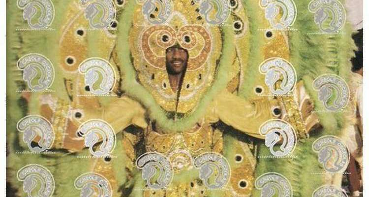 Big Chief Clarence Dalcour of the Creole Osceola Mardi Gras Indians will be at the Student Union Ballroom