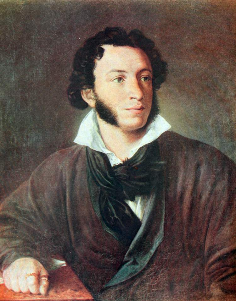 Gannibal's great grandson, Aleksander Sergeyevich Pushkin, who I considered by many to be the greatest Russian poet, and founder of modern Russian literature. Photo: Iryna