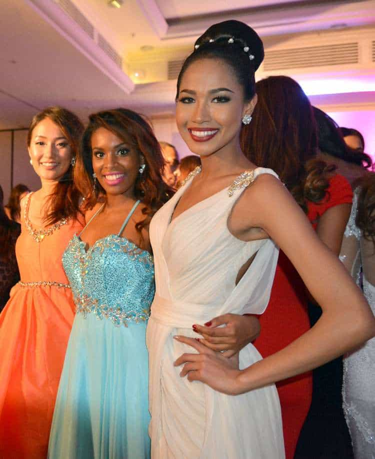 Camila Estico represents Seychelles at the Miss World 2014 Competition