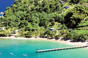 Parlatuvier Bay, Tobago. PHB.cz (Richard Semik)