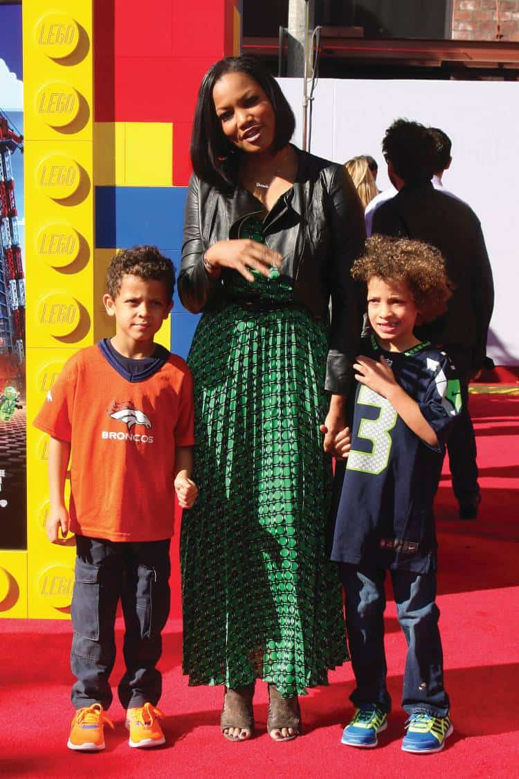 Jax Nilon, Garcelle Beauvais, Jaid Nilon