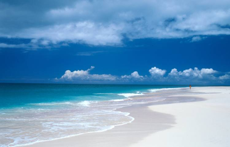 Pristine Barbuda Beach. Photo: Antigua and Barbuda Tourism Authority