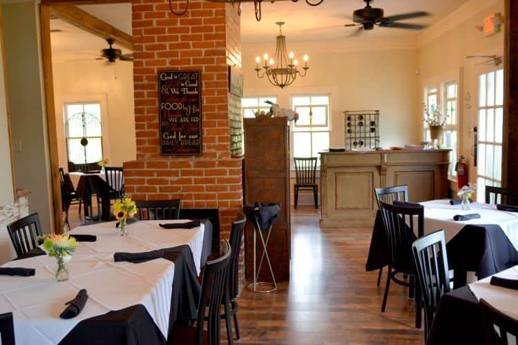 Cafe Fricassee Inside