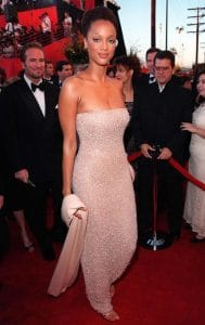 TYRA BANKS at the 70th Academy Awards.