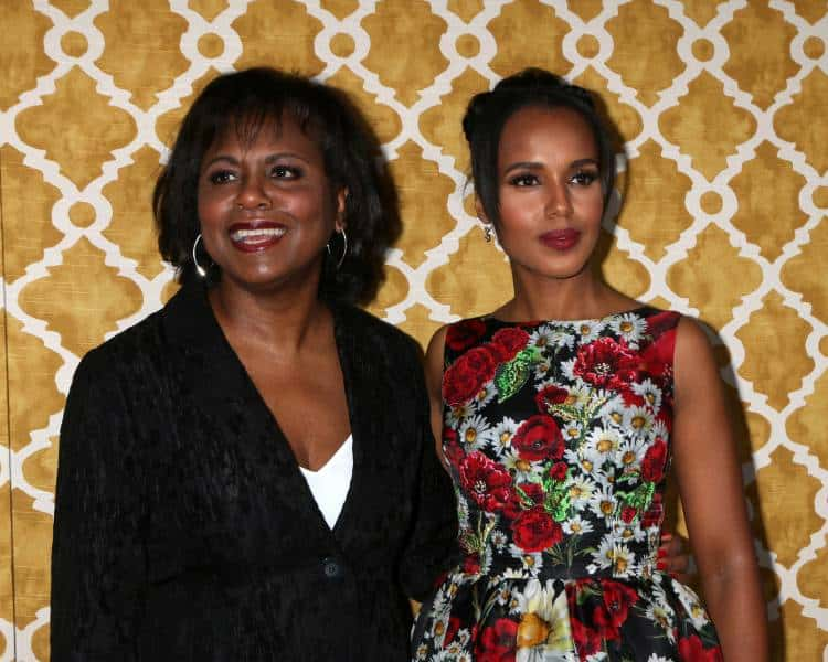Anita Hill and Kerry Washington at the Confirmation HBO Premiere Screening at the Paramount Studios Theater in Los Angeles, CA. Photo: Helga Esteb