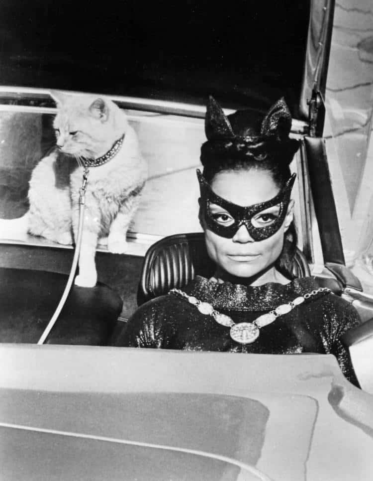 Eartha Kitt Catwoman Batman 1967. Photo: ABC Television