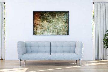 Modern bright living room, interiors.