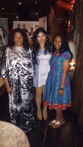 at AFWL 2015 press launch with AFWL founder Ronke Ademiluyi and organiser Anna Marie Benedict (1)