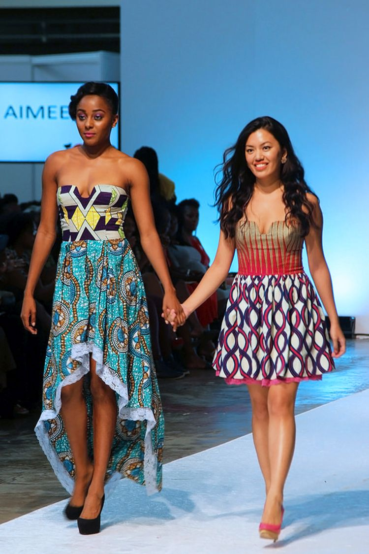 runway show of AIMEEKU SS16 collection at Africa Fashion Week London (11)