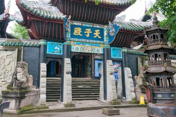 Fengdu Ghost City. a famous historic site in Fengdu, China.