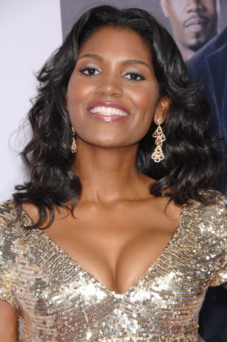 "Denise Boutte at the world premiere of her new movie ""Why Did I Get Married?"" Los Angeles, CA Photo: Paul Smith / Featureflash"