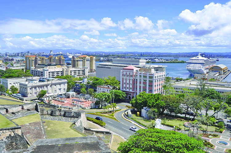 A View of San Juan, Puerto Rico