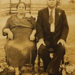 Emma Broussard Vallot and Adonis Vallot - William's grandparents. Adonis began the farm in the 1920s with rice drops. Owned the first tractor in the area.