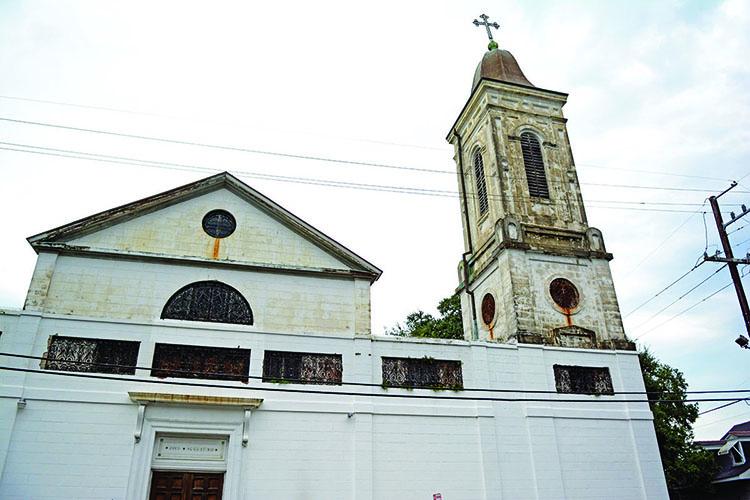 Saint Augustine Church, New Orleans Photo: Rinald Mamachev