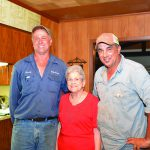 "William ""Donny"" Jr., Elaine and Monte Vallot"