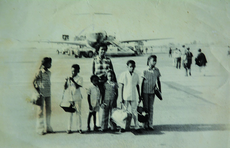 The Faure family returning from Uganda to settle Seychelles