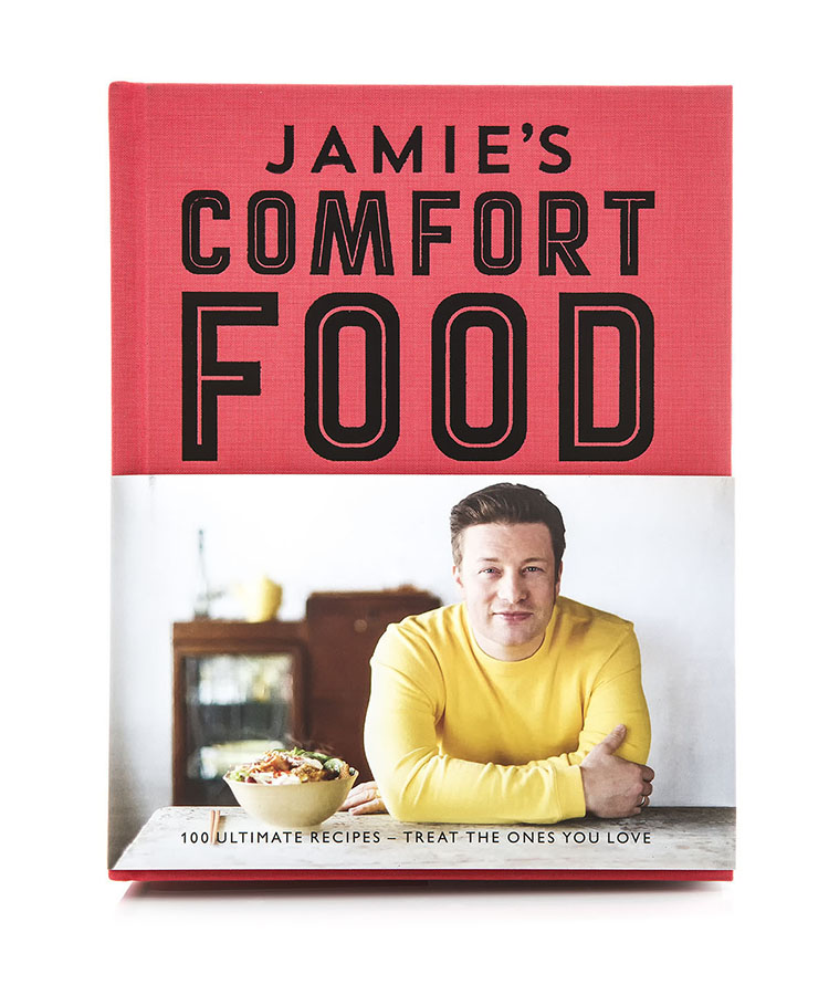 Jamie Oliver Comfort Food, 100 Ultimate Recipes. Photo: urbanbuzz