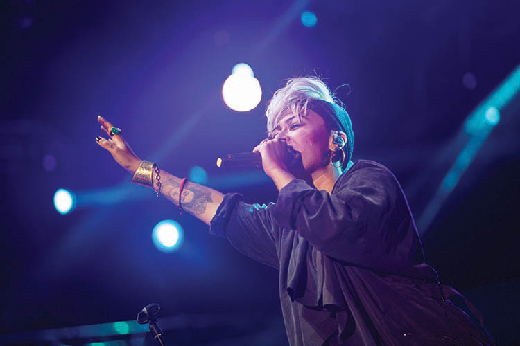 Emeli Sande performs at EXIT 2015 Music Festival