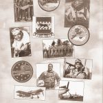 Selection of newspaper clippings on the Tuskegee Airmen