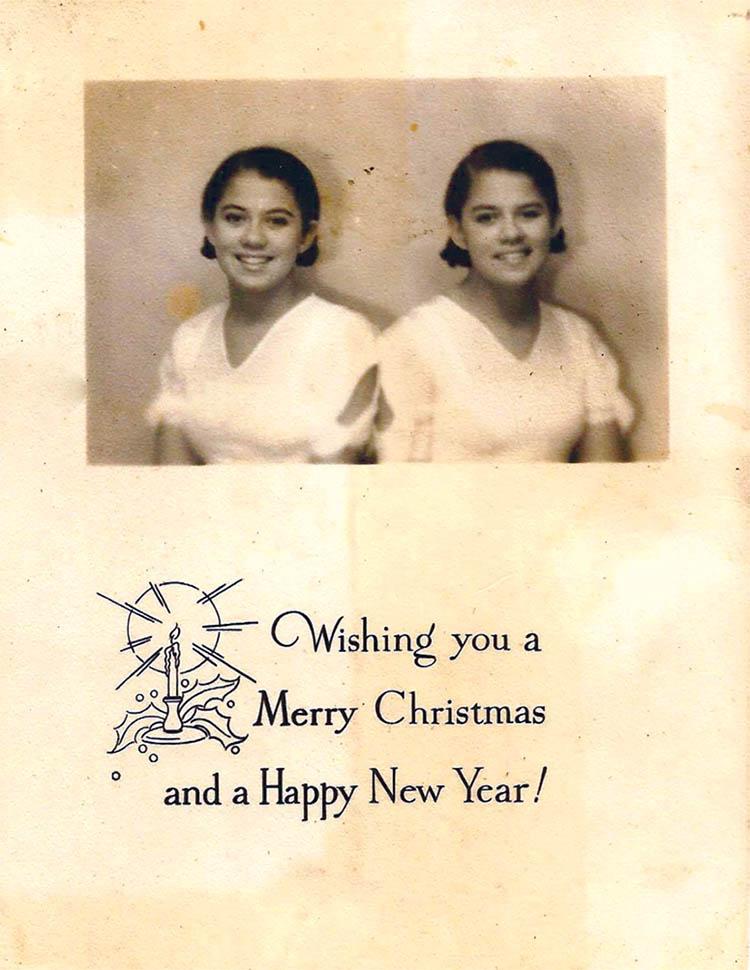 Christmas Card 1934