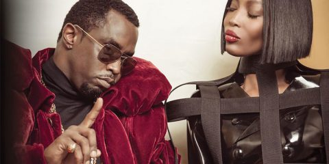 Sean Diddy & Noami Campbell
