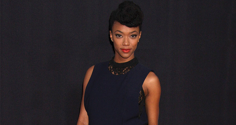 "Sonequa Martin-Green at the ""The Walking Dead"" Season 5 Premiere at Universal City Walk on October 2, 2014 in Los Angeles, CA. Photo: Kathy Hutchins"
