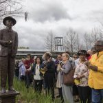 Selection of photos from the unveiling of the statue of Amédé Ardoin at the St. Landry Parish Visitor Center, March 11, 2018 Photos: St. Landry Parish Tourist Commission and David Simpson