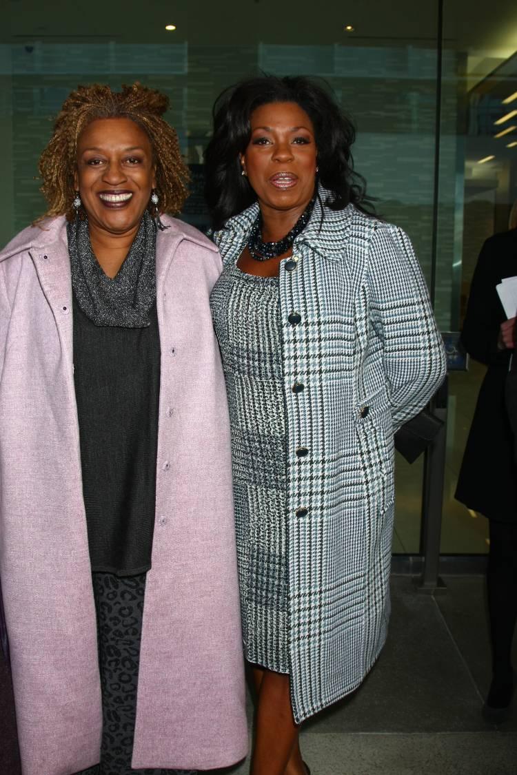 CCH Pounder and Lorraine Toussaint