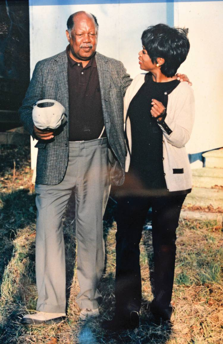 Ernest Gaines with Oprah Winfrey