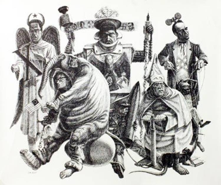 jackson-billy-morrow-costumed-political-figures-3-jane-haslem-gallery