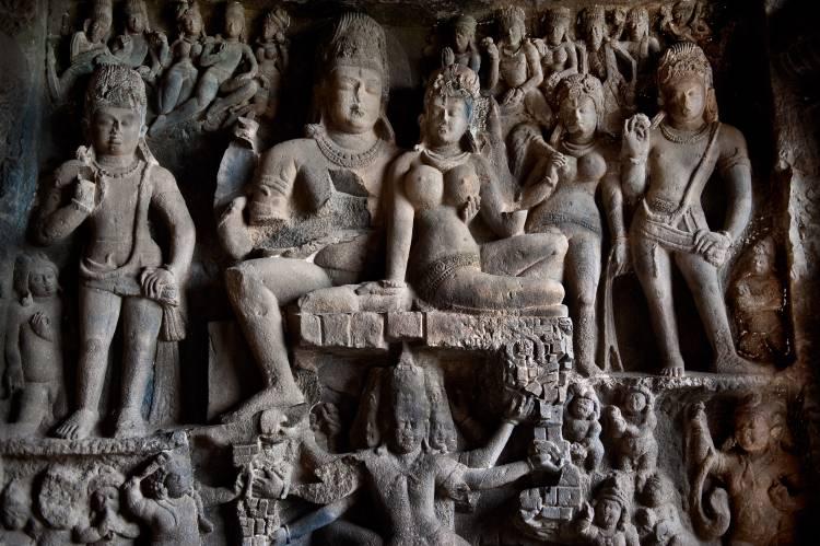 5. Ellora temple religious complex
