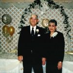 58 Henry and Doris (best man and maid of honor)