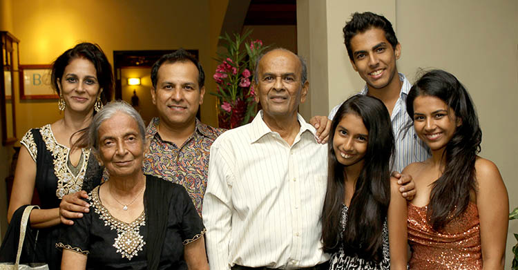 The Shah family