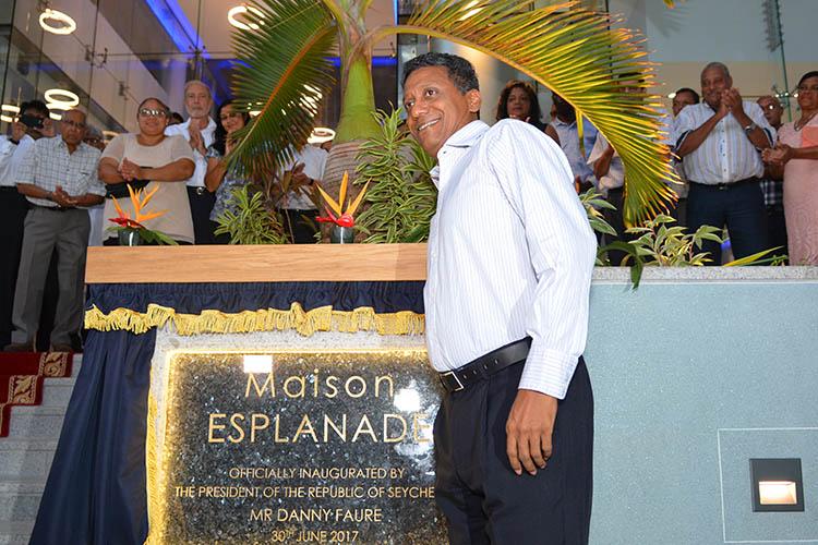 Seychellois President, Danny Faure07