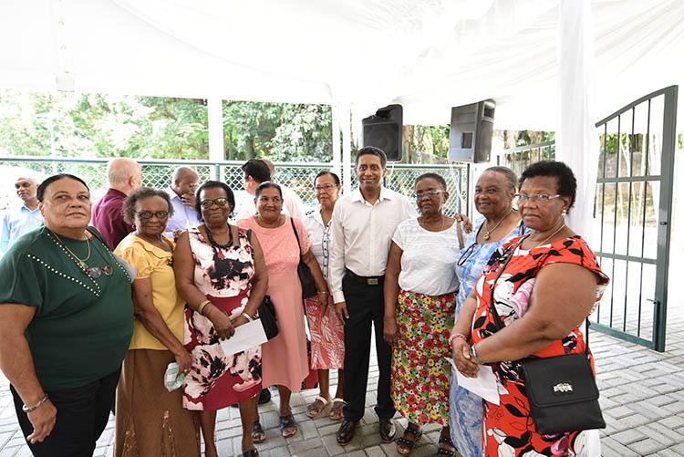 Seychellois President, Danny Faure09