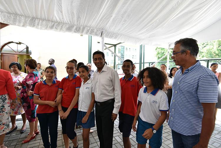 Seychellois President, Danny Faure10