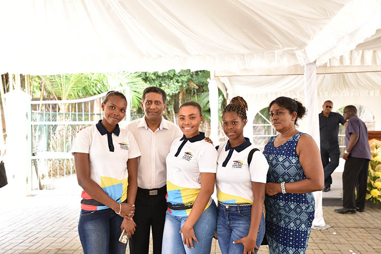 Seychellois President, Danny Faure11