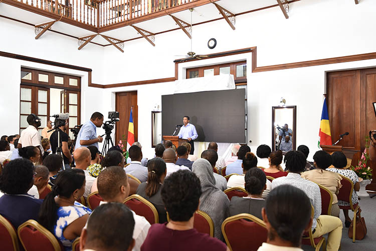 Seychellois President, Danny Faure13