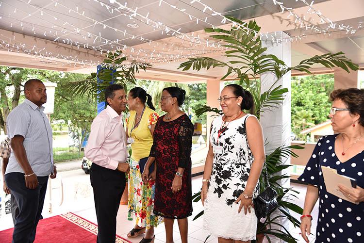 Seychellois President, Danny Faure14